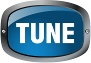tune logo home